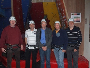 Everest causes no fear to these ABC 41-Club adventurers