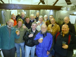 A fabulous tour of Enville Brewery by ABC 41 Club, Cheers  (hic)