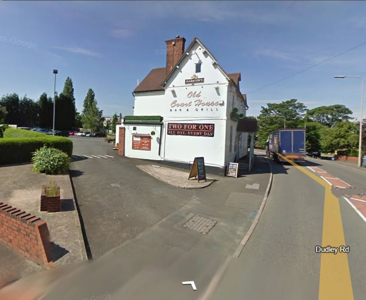 For all those ex-tablers who don't know what this is ....... it is a pub!